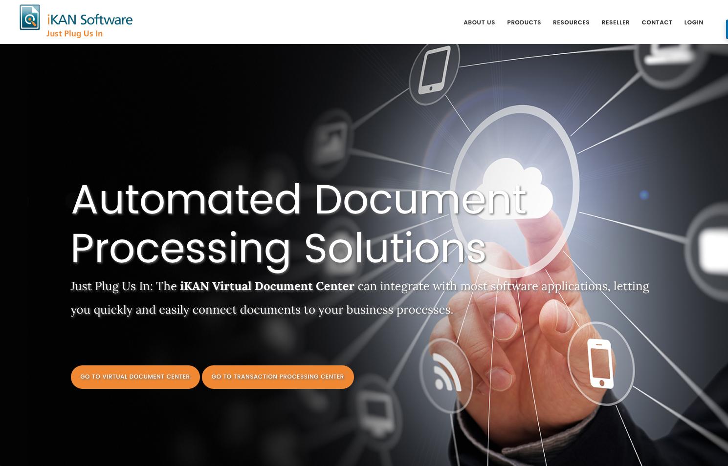 iKAN Software web site