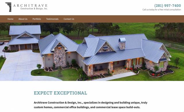 Architrave Construction & Design