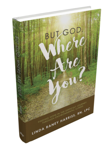But God, Where Are You? Finding Hope in the Difficult Journey through Environmental Illness by Linda Raney Harriss, RN, LPC