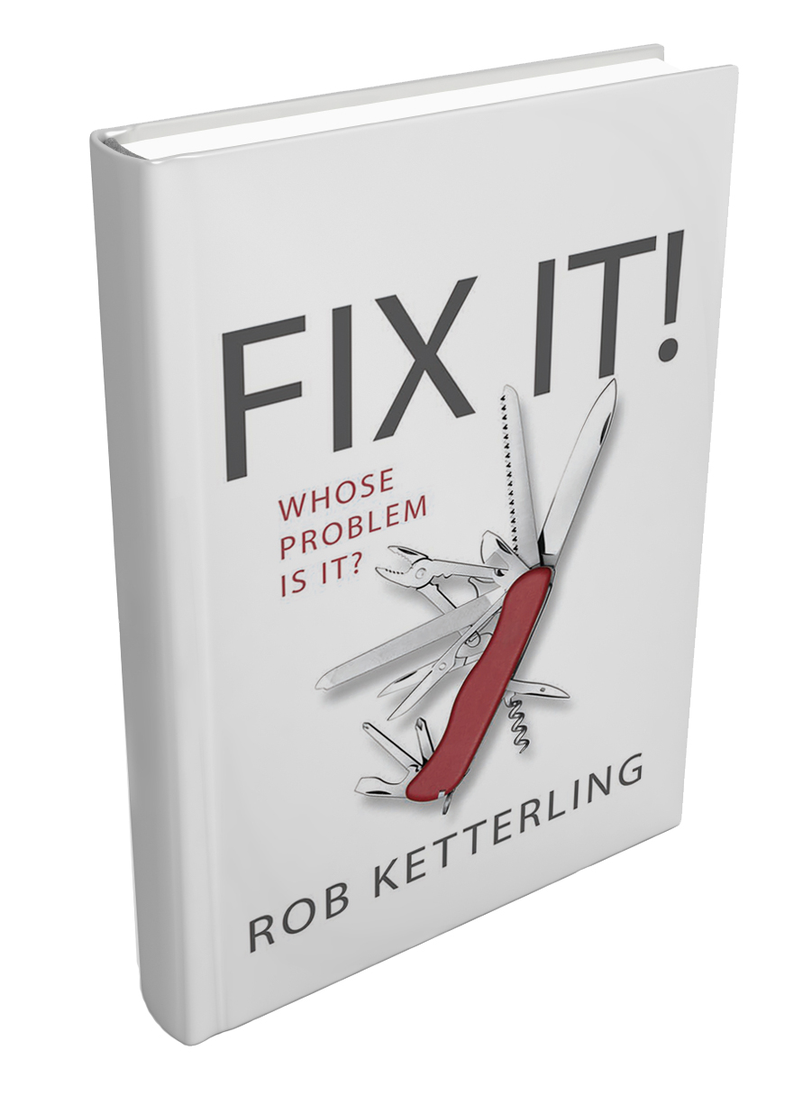 Fix It! (proposed cover) by Rob Ketterling